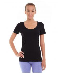 Juliana Short-Sleeve Tee-S-Black