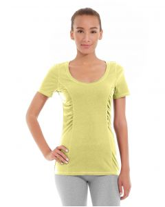 Juliana Short-Sleeve Tee-S-Yellow