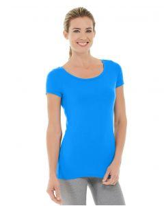 Tiffany Fitness Tee-S-Blue